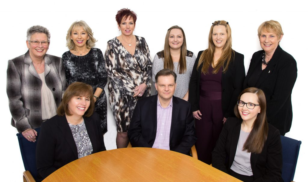 The team at chartered accountants Copia Wealth and Tax in Wolverhampton
